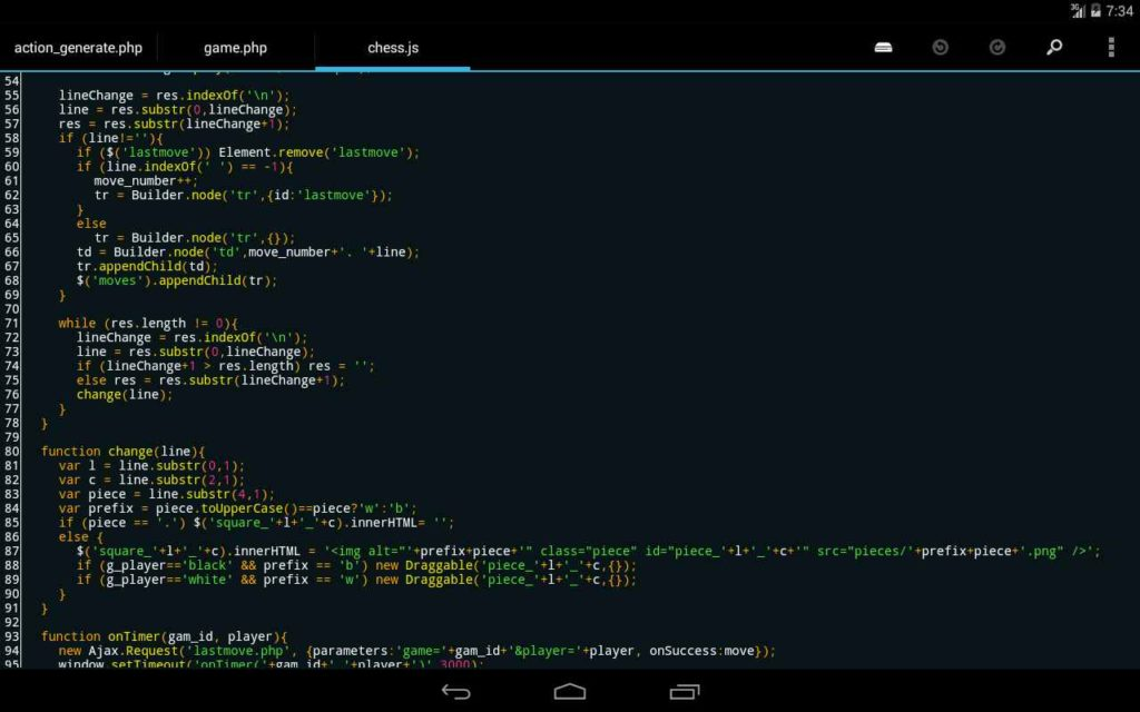 دانلود DroidEdit Pro 1.23.7 - برنامه اندروید ویرایشگر کدها برنامه نویسی
