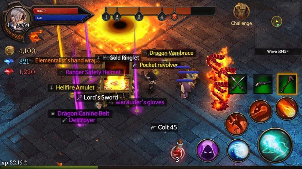 دانلود Dungeon Chronicle 2.44 - بازی نقش آفرینی خاص
