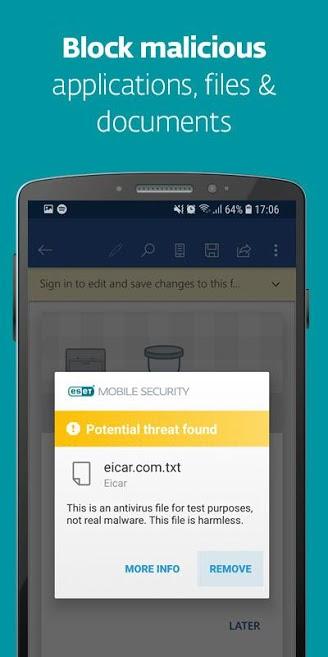 دانلود ESET Mobile Security & Antivirus 5.2.31.0 - آنتی ویروس نود 32 اندروید !