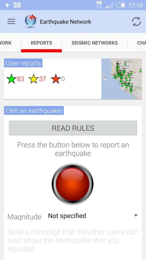 دانلود Earthquake Network Pro - Realtime alerts 9.2.23 - برنامه جامع هشدار زمین لرزه اندروید