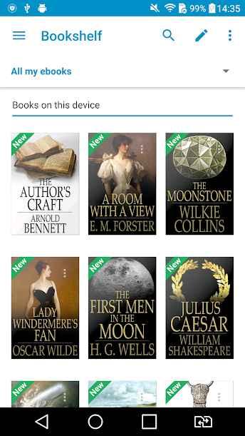 دانلود Ebook Reader 5.0.9 B-50045 - کتابخانه عظیم و آنلاین اندروید !