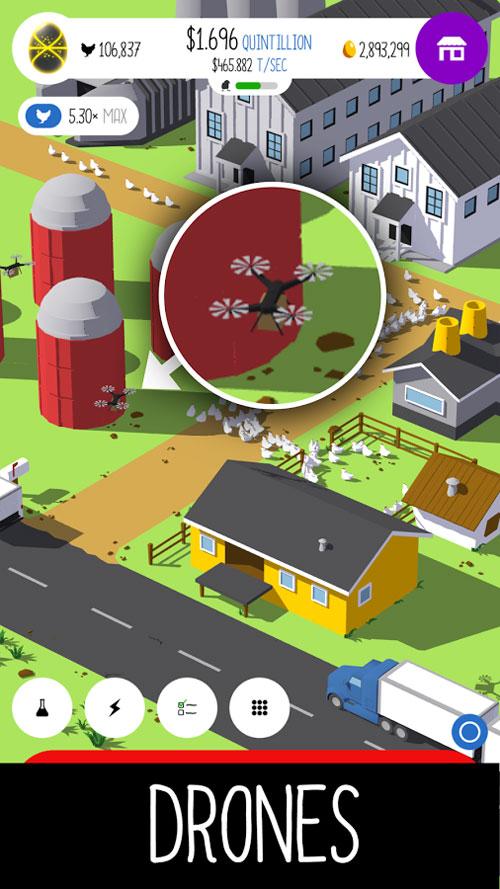 دانلود Egg Inc 1.7.5 - بازی محبوب شبیه سازی مرغداری اندروید + مود
