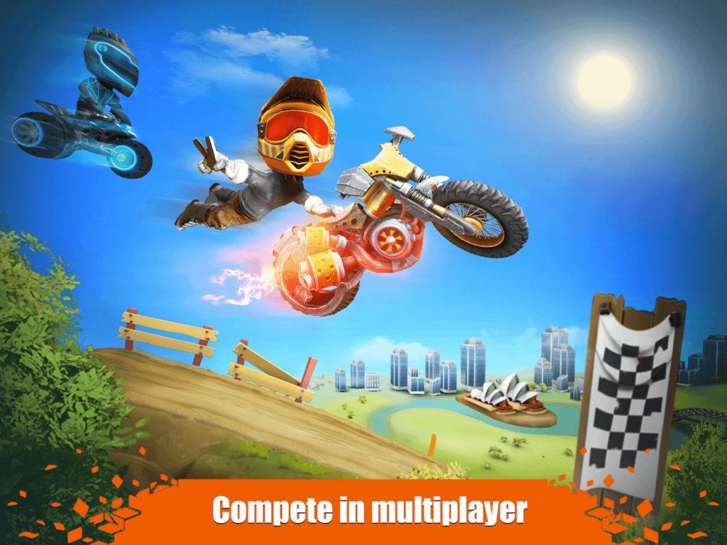 دانلود Elite Trials 1.0.42 - بازی جالب موتورسواران حرفه ای اندروید + مود