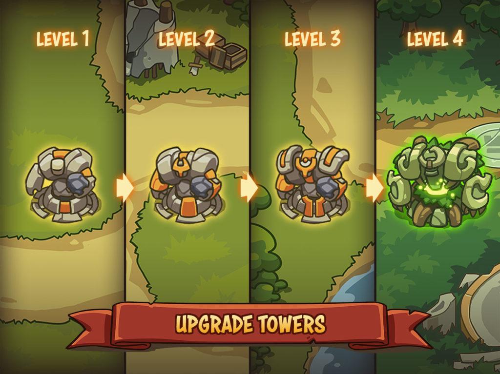 دانلود Empire Warriors TD: Defense Battle 0.6.6 - بازی برج دفاعی فوق العاده اندروید + مود