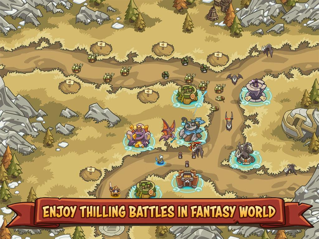 دانلود Empire Warriors TD: Defense Battle 0.5.5 - بازی برج دفاعی فوق العاده اندروید + مود