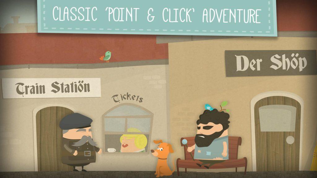 دانلود Enigma: Super Spy - Point & Click Adventure Game 1.0.17 - بازی ماجراجویی فوق العاده