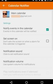 Events Notifier for Calendar Full