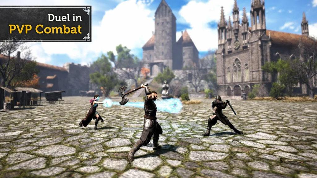 دانلود Evil Lands: Online Action RPG 1.3.6 - بازی نقش آفرینی رقابتی