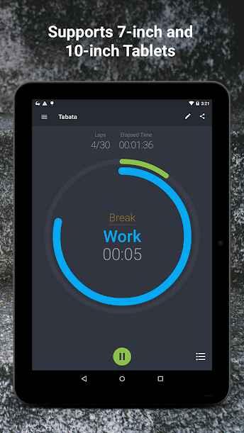 دانلود Exercise Timer Premium 6.029 - برنامه تایمر ورزشی پر امکانات و حرفه ای اندروید !