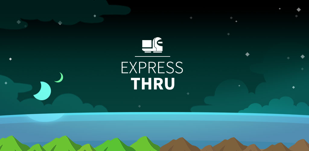 Express Thru - One line puzzle