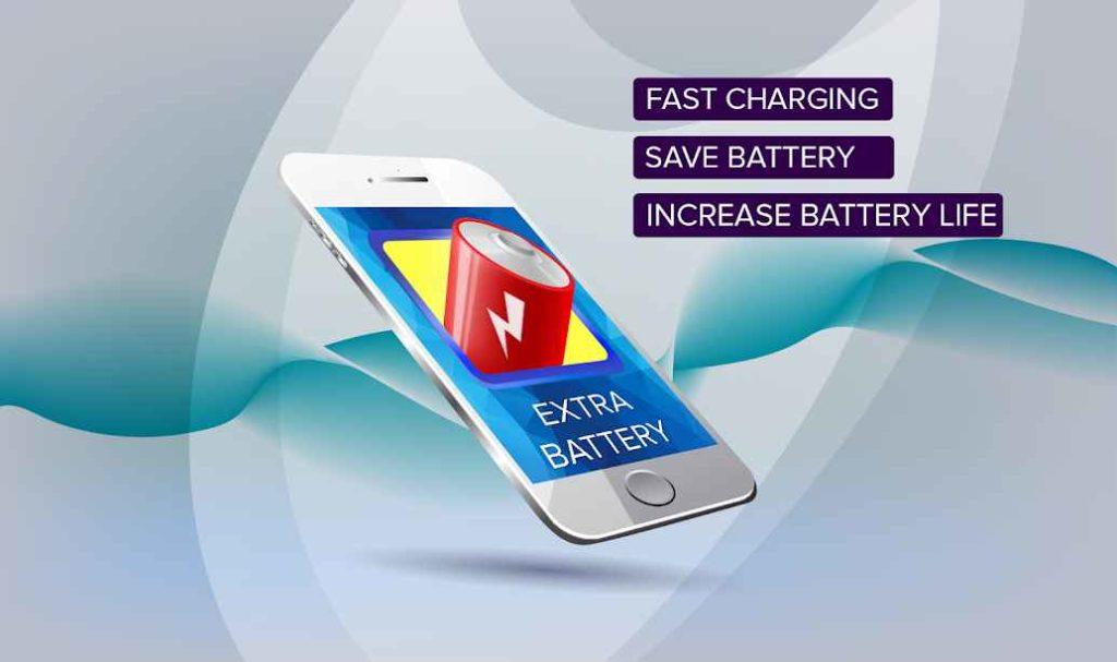 دانلود Extra Battery - Battery Saver & Fast Charger 1.1.3 - برنامه ساده صرفه جویی در مصرف باتری اندروید !