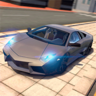 Extreme-Car-Driving-Simulator-Logo