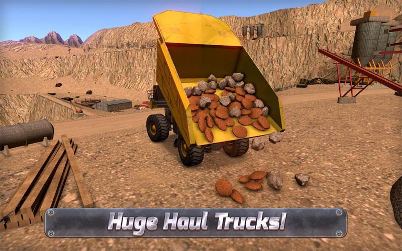 دانلود Extreme Trucks Simulator 1.3.1 - بازی شبیه ساز ساخت و ساز اندروید + مود