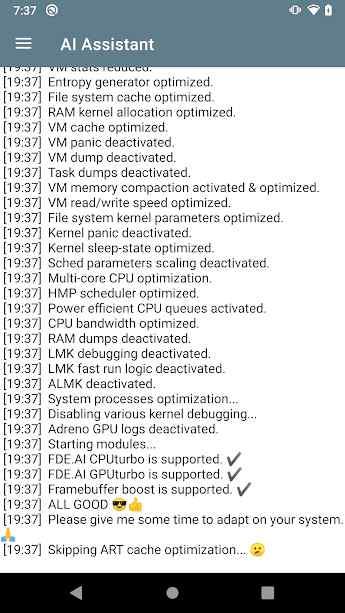 دانلود FDE.AI 7.2 - قوی ترین بهینه ساز هوشمند دستگاه های اندروید