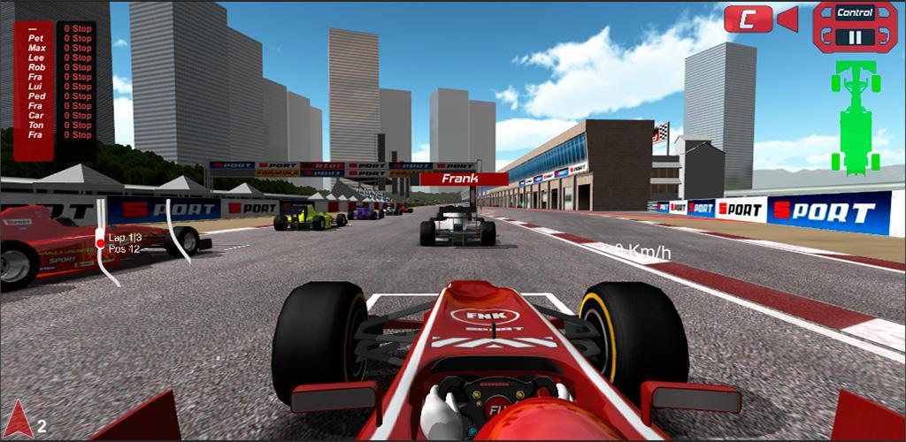دانلود FX-Racer Unlimited 1.5.5 – بازی مسابقات فرمول 1 اندروید + مود