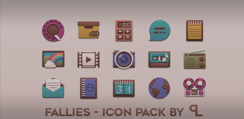 Fallies Icon pack - Chocolat