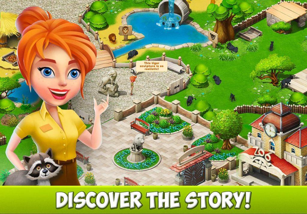 دانلود Family Zoo: The Story 2.0.4 - بازی پازل