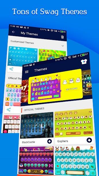 دانلود FancyKey Keyboard - Cool Fonts Plus 4.7 - صفحه کلید جذاب و پر امکانات اندروید !