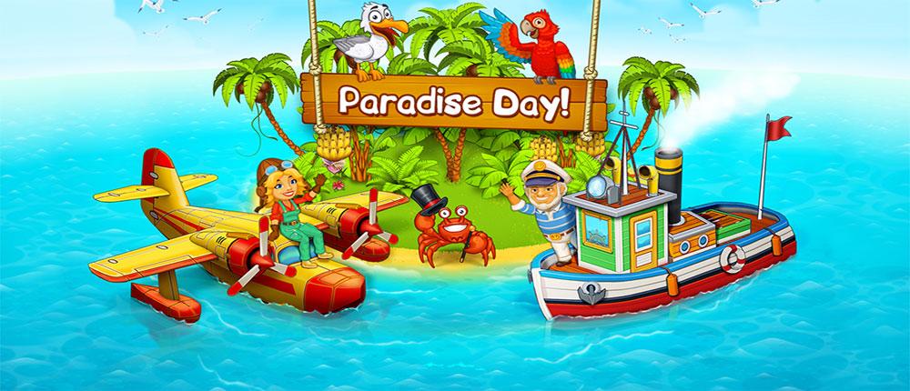 مزرعه بازی بدون اینترنت دانلود Farm Paradise: Hay Island Bay 1.9 - بازی مزرعه داری ...