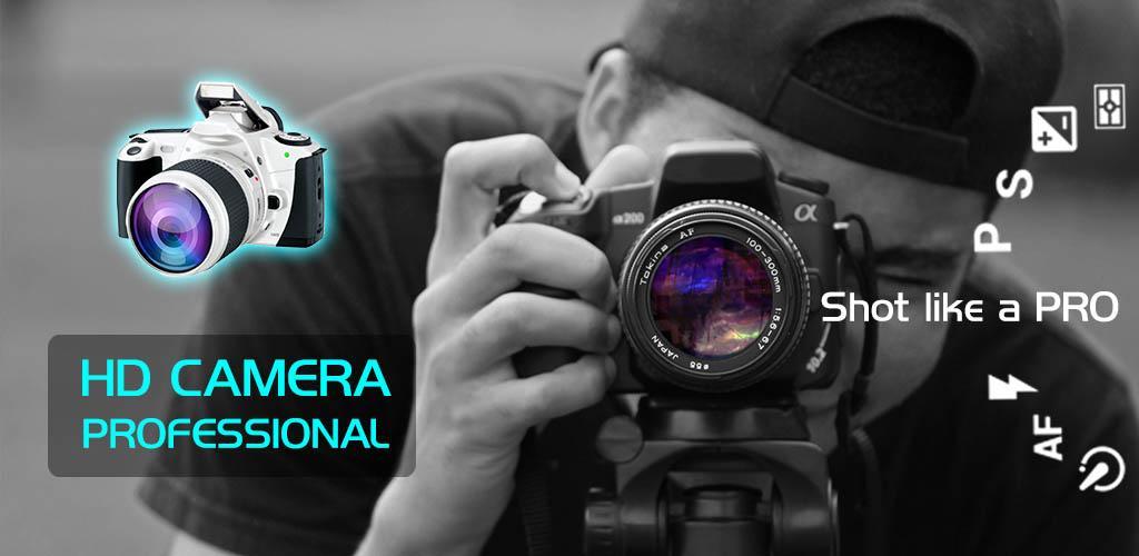 دوربین حرفه ای و اچ دی اندروید Fast Camera – HD Camera Professional