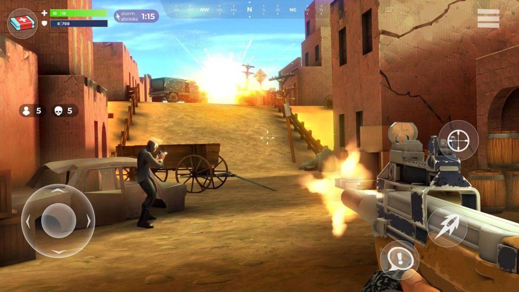دانلود FightNight Battle Royale: FPS Shooter 0.6.0 - بازی اکشن