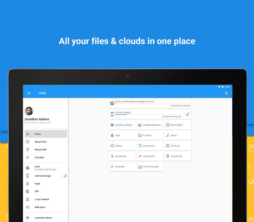 دانلود File Commander Full 6.3.33413 - برنامه مدیریت فایل قدرتمند