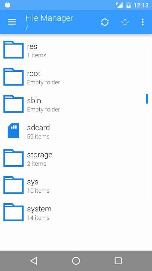 دانلود File Manager: Folder Shortcuts [PRO] 2.0 - برنامه فایل منیجر روان اندروید!