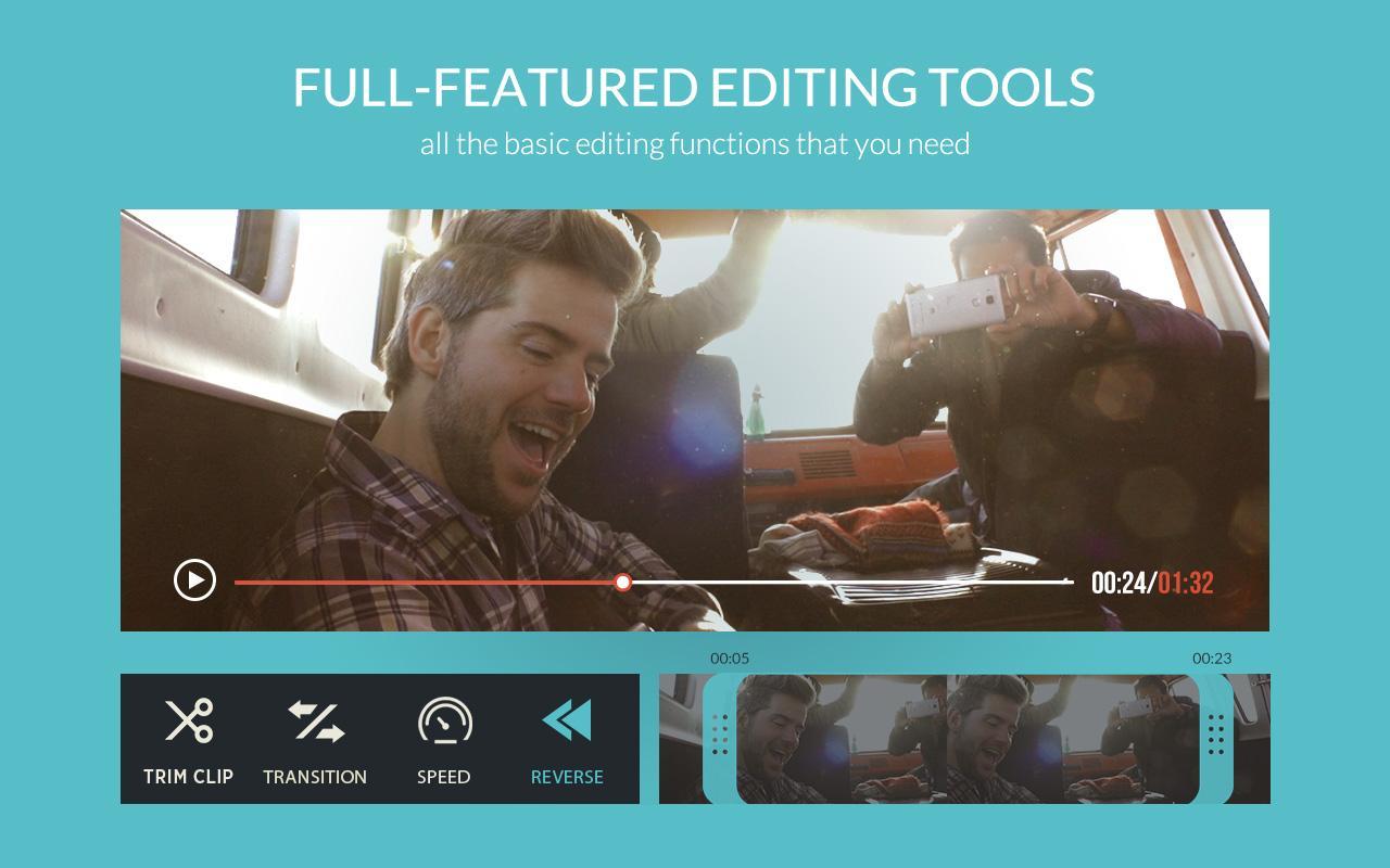 FilmoraGo - Free Video Editor