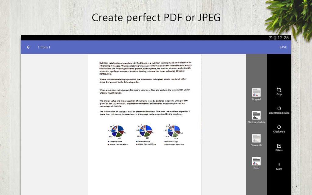 دانلود FineScanner Pro 1.16.1.6 - برنامه اسکنر جیبی اندروید!