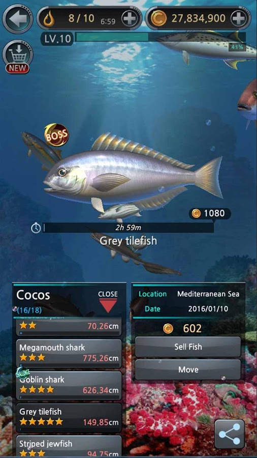 دانلود Fishing Hook 2.1.0 - بازی پرطرفدار