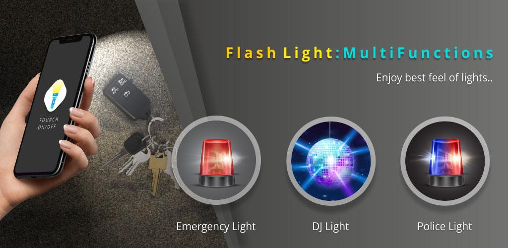 Flash Light Multifunctions Pro