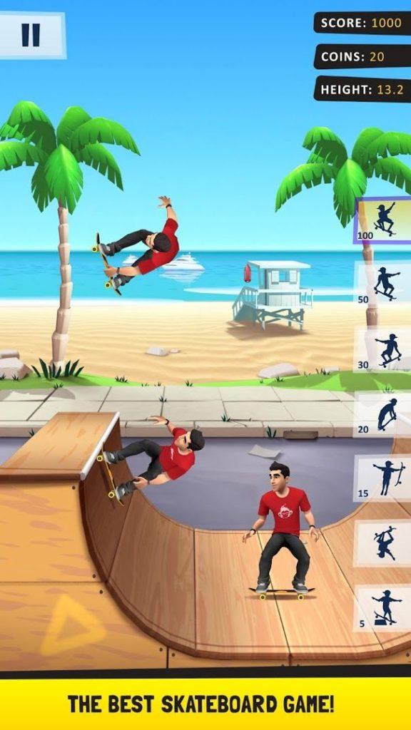 دانلود Flip Skater 1.78 - بازی ورزشی سرگرم کننده