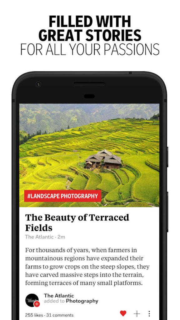 دانلود Flipboard - Latest News, Top Stories & Lifestyle 4.2.26 - اپلیکیشن فلیپبورد برای نمایش اخبار روز جهان در اندروید!
