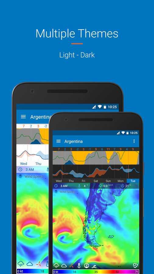 دانلود Flowx Full 3.210 - برنامه قدرتمند پیش بینی آب و هوا اندروید + مود