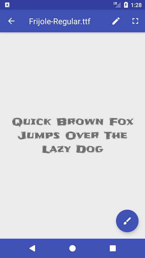 دانلود Font Viewer Plus 1.4.2c - برنامه مشاهده و بررسی سبک فونت اندروید
