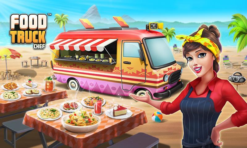 دانلود Food Truck Chef™: Cooking Game 1.5.6 - بازی آشپزی اندروید + مود