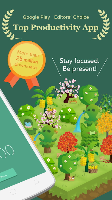دانلود Forest: Stay focused Full 4.10.7 - برنامه ترک اعتیاد موبایل اندروید !