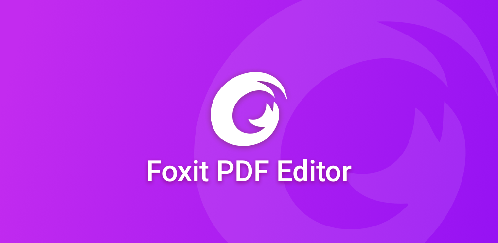 Foxit PDF Editor Cover