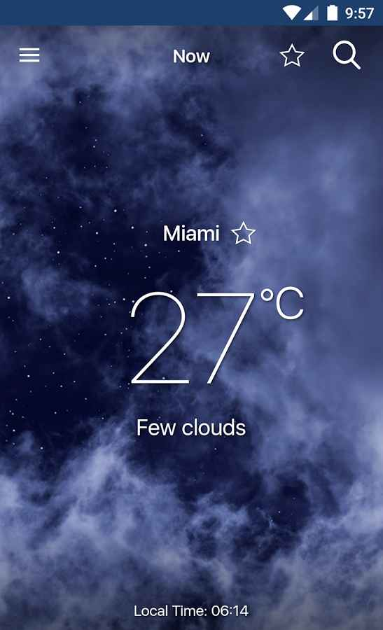 دانلود Freemeteo Pro 1.0.14 - برنامه ساده پیش بینی دقیق آب و هوا اندروید