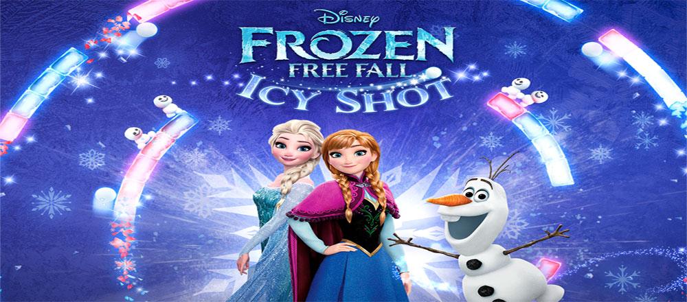 """دانلود Frozen Free Fall: Icy Shot - بازی پازل """"گلوله یخی"""" اندروید + مود"""