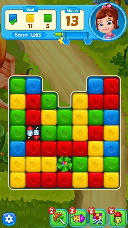 دانلود Fruit Cube Blast 1.4.1 - بازی پازل انفجار مکعب ها میوه ای اندروید + مود