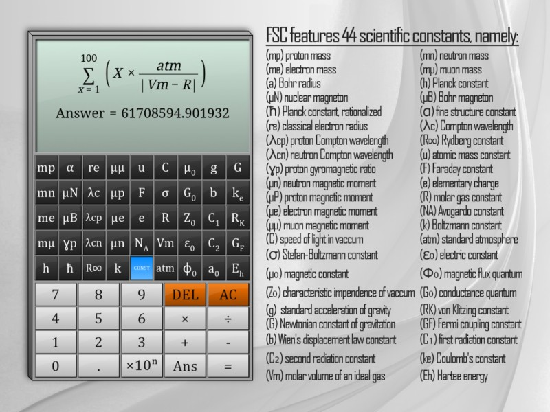 دانلود Full Scientific Calculator Pro 1.83a - ماشین حساب مهندسی و کامل اندروید