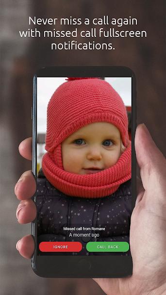 دانلود Full Screen Caller ID PRO 15.1.5 - تمام صفحه کردن عکس مخاطبین اندروید