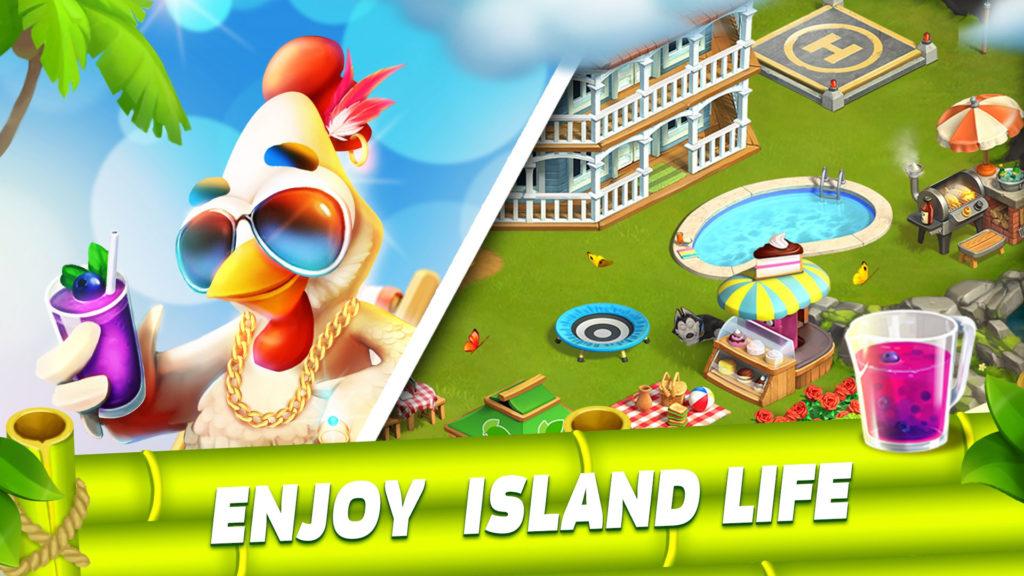 دانلود 26.115.0 Funky Bay - Farm & Adventure game - بازی شبیه سازی فوق العاده