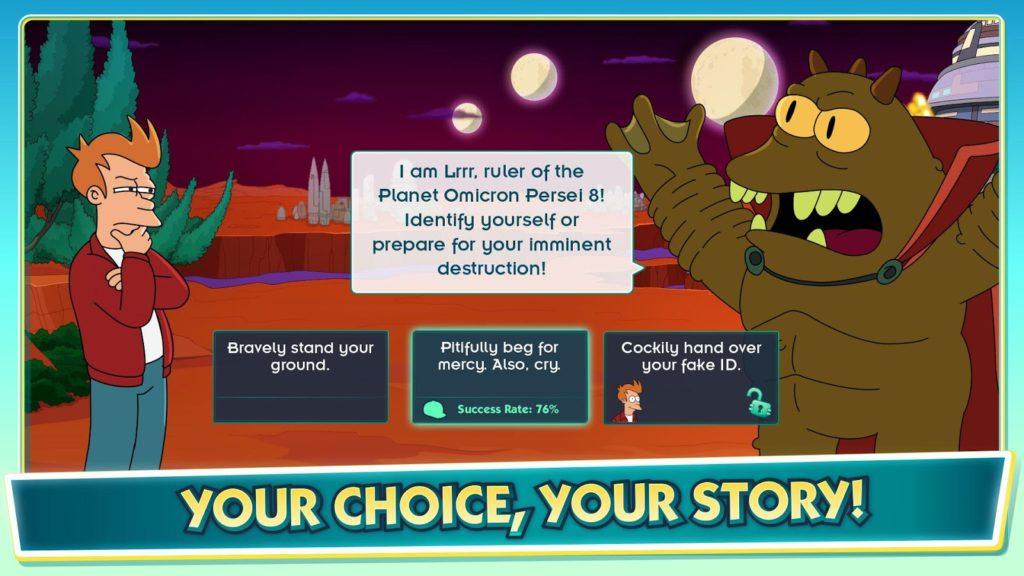 دانلود Futurama: Worlds of Tomorrow 1.6.6 - بازی ماجراجویی