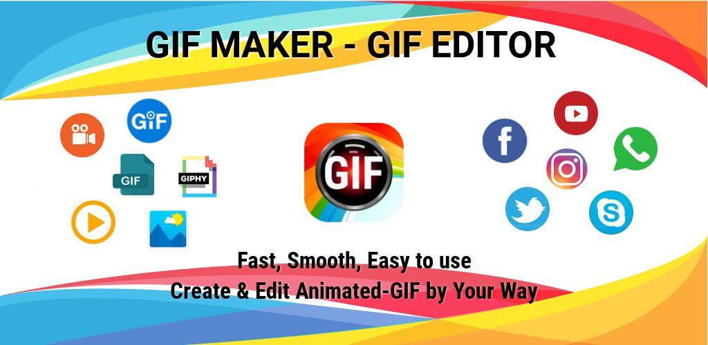GIF Maker, GIF Editor, Video Maker, Video to GIF Pro
