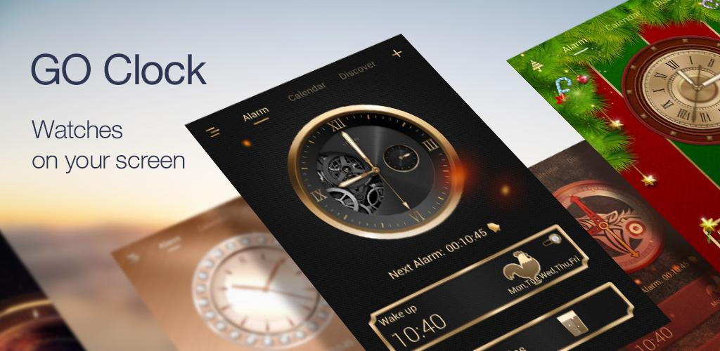 GO Clock - Alarm Clock & Theme VIP