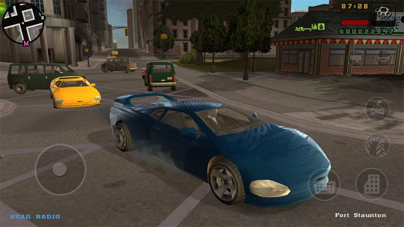 دانلود GTA: Liberty City Stories 2.2 - بازی اتومبیل دزدی بزرگ: ماجراهای لیبرتی سیتی اندروید + مود + دیتا