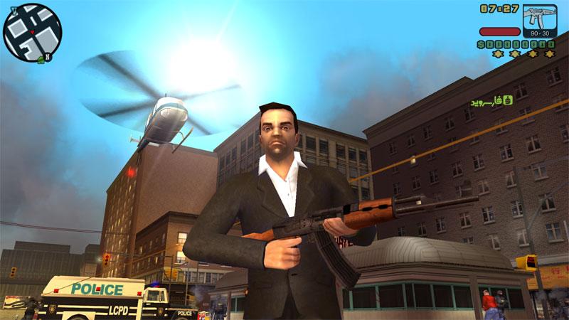 نتیجه تصویری برای دانلود GTA: Liberty City Stories 2.2 بازی جدید GTA اندروید