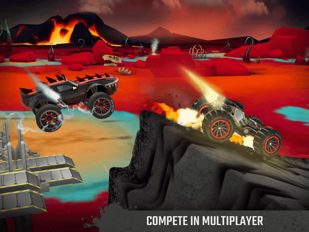 دانلود GX Monsters 1.0.30 - بازی رسینگ غول های جاده اندروید + مود